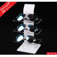 Supermarket Eyeglass Holder Clear Plastic Display Stands ISO9001 Manufactures