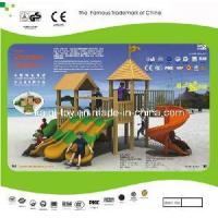 Colorful Wooden Series Outdoor Playground Equipment (KQ10152A) Manufactures