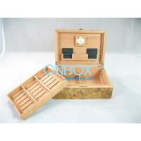 Engraving and handmade antique wooden cigar boxes with high gloss finish Manufactures