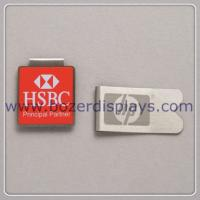 China Silk Printing Metal Paper Clip/Good Quality Metal Clip on sale
