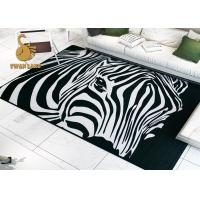 Professional Custom Slip Resistant Entrance Printed Door Mat Area Rugs Manufactures