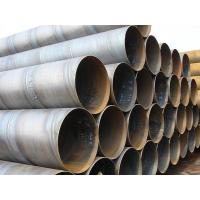 Carbon Steel ASTM A53 Gr.B SSAW Steel Pipe DIN30672 BS534 , Spiral Welded Steel Tube Manufactures