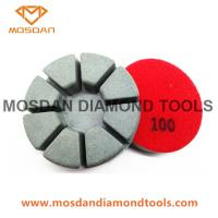 3'' Resin Bond Polishing Abrasive Pads with 8 Pies 15mm Thickness