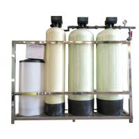 China FRP TANK Automatic FLECK Fleck Water Softener Unit , Industrial Water Softener on sale