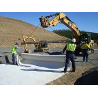 Non Woven Ground Cover Fabric , Geotextile Filter Fabric For Construction Soil Retainer Manufactures