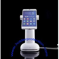 China COMER Mobile phone gripper security alarm counter display stands on sale