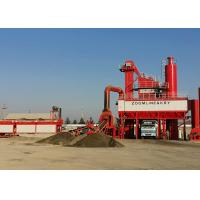 Road Construction 40-320 T/H Bitumen Mixing Plant with House Dust Filter for sale