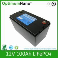 AGM/SLA battery replacement Screw connected 12v 100ah lithium ion battery Manufactures