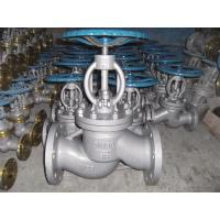 3 Inch Class A Flanged Globe Valve , 150 Class Carbon Steel Globe Valve Manufactures