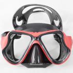 Tempered Glass Lens Diving Snorkel Mask Leak Proof For Easy Breath Manufactures