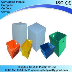 Polypropylene Corrugated Plastic Nestable Box Manufactures