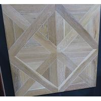China white oak engineered parquet tiles,  different designs and customized designs available on sale