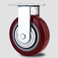 Heavy duty caster ,100mm to 200mm,fixed caster,Rolling castor wheel Manufactures