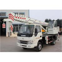 Chinese manufacturer small wheel crane truck mounted crane with telescopic GNQY-C6 Manufactures