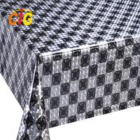 Colorful Custom PVC Shiny Tablecloth Thickness Roll 0.18 Mm Width 137cm