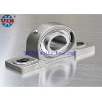 Low Noise SSF204 Bearing Housing Types , Stainless Steel High Precision Bearing Housing Manufactures