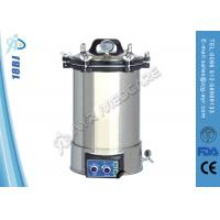 China Portable Electric Heating 18L Medical Steam Sterilizer For Hospital on sale