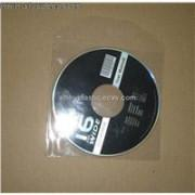 CD sleeve Plastic Clear CD Sleeve  plastic dvd sleeve dvd sleeves  in PP materail  142*125*0.5mm for 1 discs cheap price Manufactures
