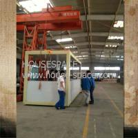 Expandable Modern Steel Modular House , Emulsion paint And Ceramic Tiles Manufactures
