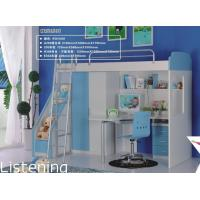 kids bunk bed with desk,#A205-1