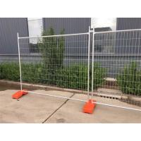 Buy cheap Galvanized Portable Temporary Fence Panels for Construction Site from wholesalers