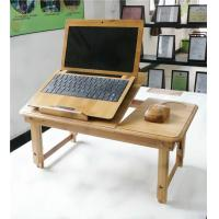 Buy cheap High quality bamboo folding computer desk from wholesalers