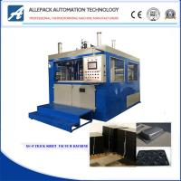Siemens PLC Control Thick Sheet Vacuum Forming Machine For Plastic Tray Bowl Plate Manufactures
