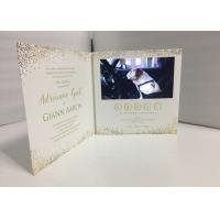 Creative branding 7inch LCD TFT Video Brochure Video invitation card launch event video brochure card Manufactures