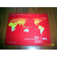 the Natural rubber mouse pad Print ads mouse mat for your Propaganda Manufactures