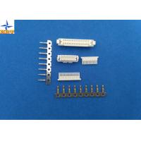 Signal Connector SSHL Contact, 1.00mm Pitch SSHL Crimp Terminals for AWG#32 To 28 Wires Manufactures