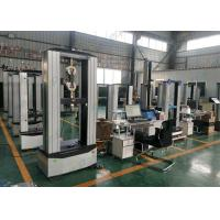 Compact UTM Universal Testing Machine Manual Wedge Fixture Long Life Time Manufactures