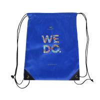 Recycled Non Woven Drawstring Bags Packaging Durable For Apparel / Gift / Craft Manufactures