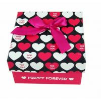 China Round Heart Shaped Printed Jewelry Gift Boxes Packaging Cardboard on sale