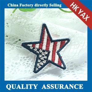 China high quality embroidery badge;custom embroidery patch;embroidery patch for clothing on sale