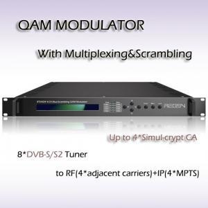 RTS4508 8*DVB-C Tuner input Four-Channel Mux-Scrambling QAM Modulator Manufactures