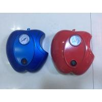 Quality Apple Shape Car DC12V Car Air Pump Plastic Fast Inflation , Blue / Red Color for sale