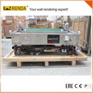 Brick Wall Mechanical Plastering Machine , Cement Rendering Machine High Speed Manufactures