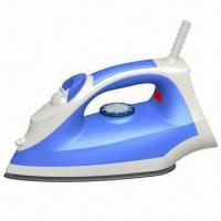 Electric Steam Iron with 1,800W Rated Power, CE-/RoHS-/GS-approved Manufactures