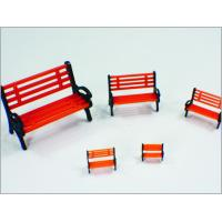 Y30-02 1:30 Custom Scale Model Train Layouts Plastic 3D Park Chair Manufactures