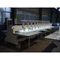Flat High Speed Embroidery Machine , Commercial Monogramming Machine 1000RPM Speed Manufactures