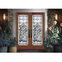 durability  Sliding Glass Doors Theft Proof Brass / Nickel / Patina  life cycle Manufactures