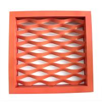 China Round Hole Shape Expanded Aluminum Mesh Coils With Long Time Service on sale
