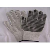 China Black Nitrile Dots Cut Resistant Gloves XS - XXL Sizes Environmental Friendlly on sale