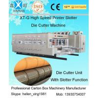 Corrugated Box Flexo Printer Carton Making Machine 1600 X 3000mm Max Feeding Size Manufactures