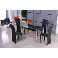 Glass and Stainless Steel Dining Table Manufactures