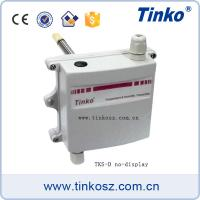 Duct mounting with flange modbus temperature humidity transmitter sensor temperature Manufactures