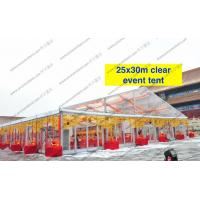Transparent Roof Clear Span Tent Glass Walls For Wedding / Party Manufactures