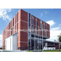China Modern small prefab buildings , steel utility buildings with ASTM steel on sale