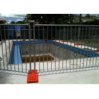 Different Colors Temporary Pool Fencing For Above Ground Pools Easy Install Manufactures
