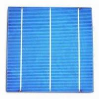 Solar Cell, 156 x 156mm Poly Cell Manufactures